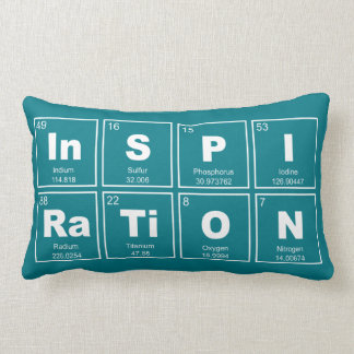 Chemical periodic table of elements: InSPIRaTiON Lumbar Cushion