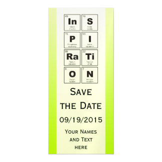 Chemical periodic table of elements: InSPIRaTiON Magnetic Invitations