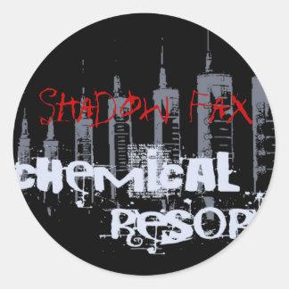 Chemical Resort Sticker Black
