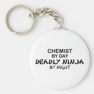 Chemist Deadly Ninja by Night Key Ring