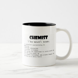 Chemist Definition Two-Tone Mug