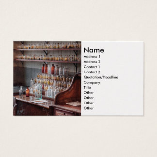 Chemist - Perfume Science Business Card