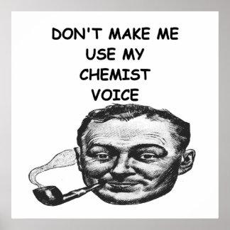 chemist posters