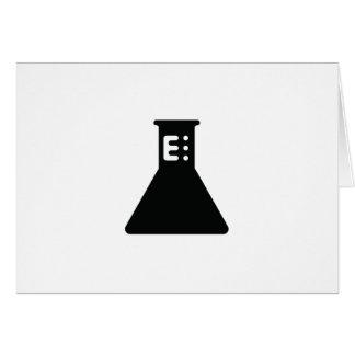 Chemistry Beaker Greeting Card