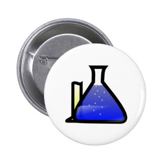 Chemistry Beakers Buttons