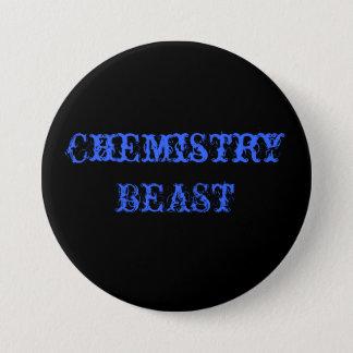 Chemistry BEAST 7.5 Cm Round Badge