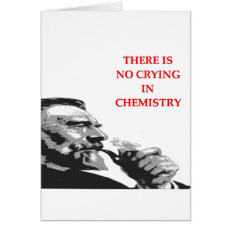 chemistry greeting cards