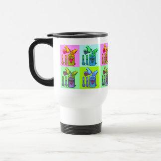 Chemistry Displacement Pop Art Coffee Mugs