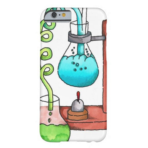 Chemistry Experiment iPhone 6 Case