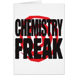 Chemistry Freak Card