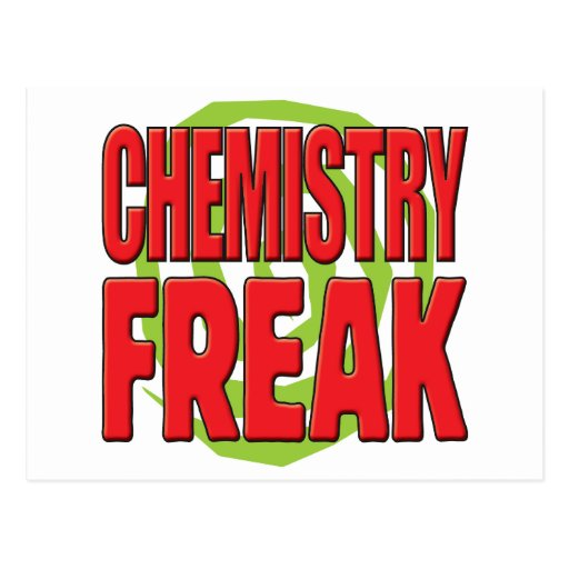 Chemistry Freak R Postcard