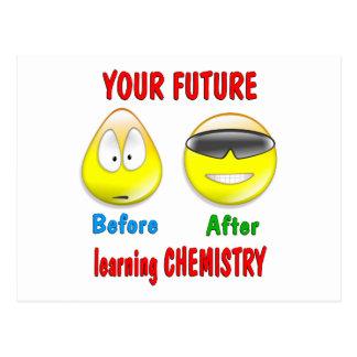 Chemistry Future Postcard