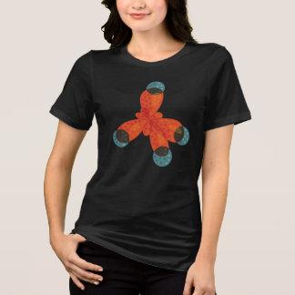 Chemistry Geek Orange Methane Molecule T-Shirt