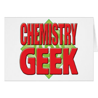 Chemistry Geek v2 Greeting Cards