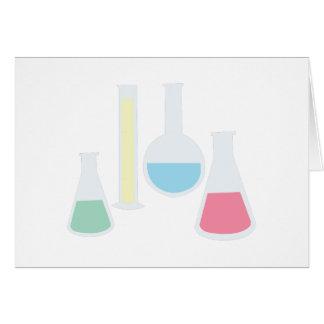 Chemistry Glassware Greeting Card