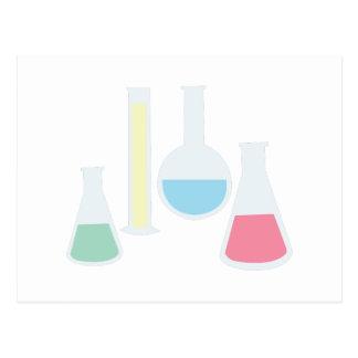 Chemistry Glassware Postcard