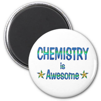 Chemistry is Awesome Magnet