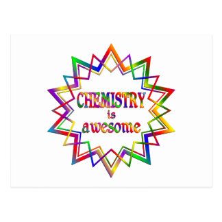 Chemistry is Awesome Postcard