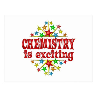 Chemistry is Exciting Postcard