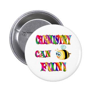 Chemistry is Fun 6 Cm Round Badge