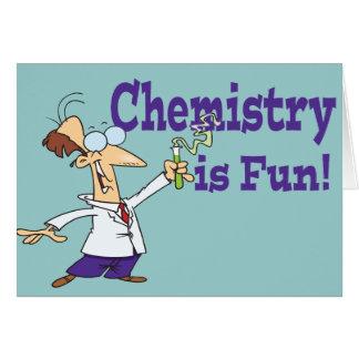 Chemistry is Fun Card