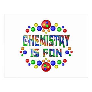 Chemistry is Fun Postcard