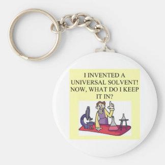 chemistry joke keychain