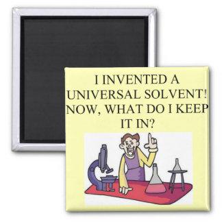 chemistry joke square magnet
