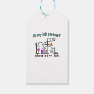 Chemistry lab gift tags