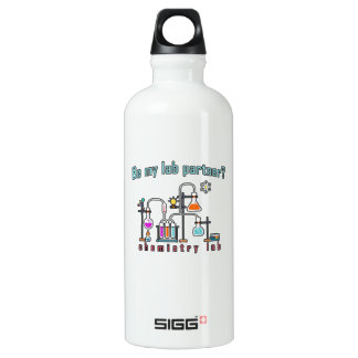 Chemistry lab water bottle