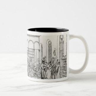 Chemistry laboratory of Baron Justus von Liebig Two-Tone Coffee Mug