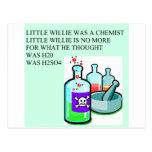 chemistry little willie rhyme