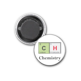 CHEMISTRY 3 CM ROUND MAGNET