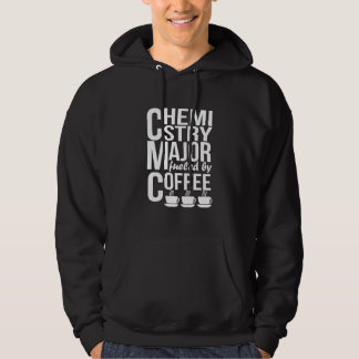 Chemistry Major Fueled By Coffee Hoodie