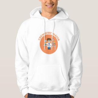 Chemistry Major Orange Scientist Hoodie