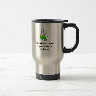 Chemistry Major Travel Mug