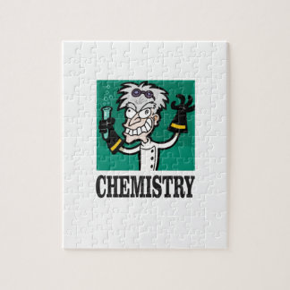 chemistry man in coat jigsaw puzzle