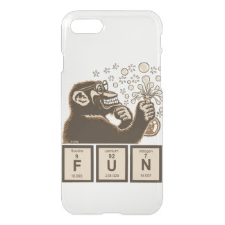 Chemistry monkey discovered fun iPhone 8/7 case