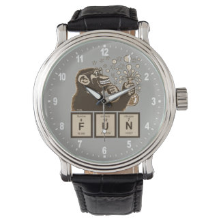 Chemistry monkey discovered fun watch