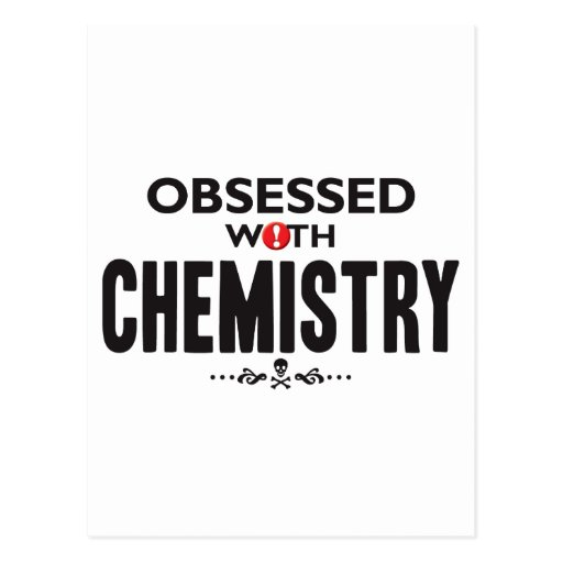 Chemistry Obsessed Postcards
