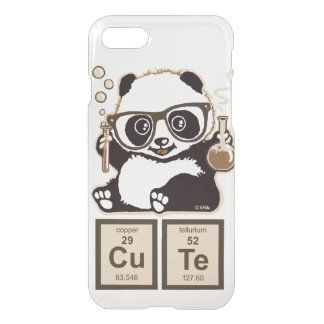 Chemistry panda discovered cute iPhone 8/7 case