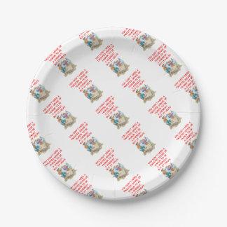 chemistry paper plate