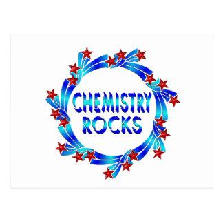 Chemistry Rocks Fun Postcard
