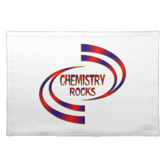 Chemistry Rocks Placemat