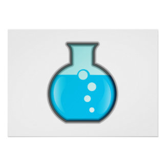 Chemistry Science Beaker Poster