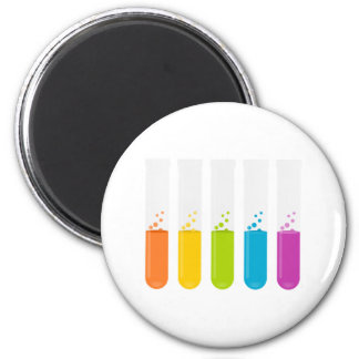 Chemistry Science Test Tubes 6 Cm Round Magnet