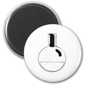 chemistry set round flask 6 cm round magnet