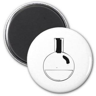 chemistry set round flask magnets