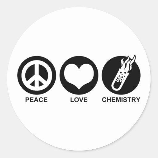 Chemistry Round Sticker