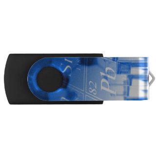 Chemistry Swivel USB 3.0 Flash Drive